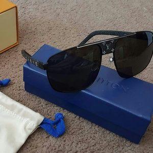 Louis Vuitton Pacific Black Sunglasses